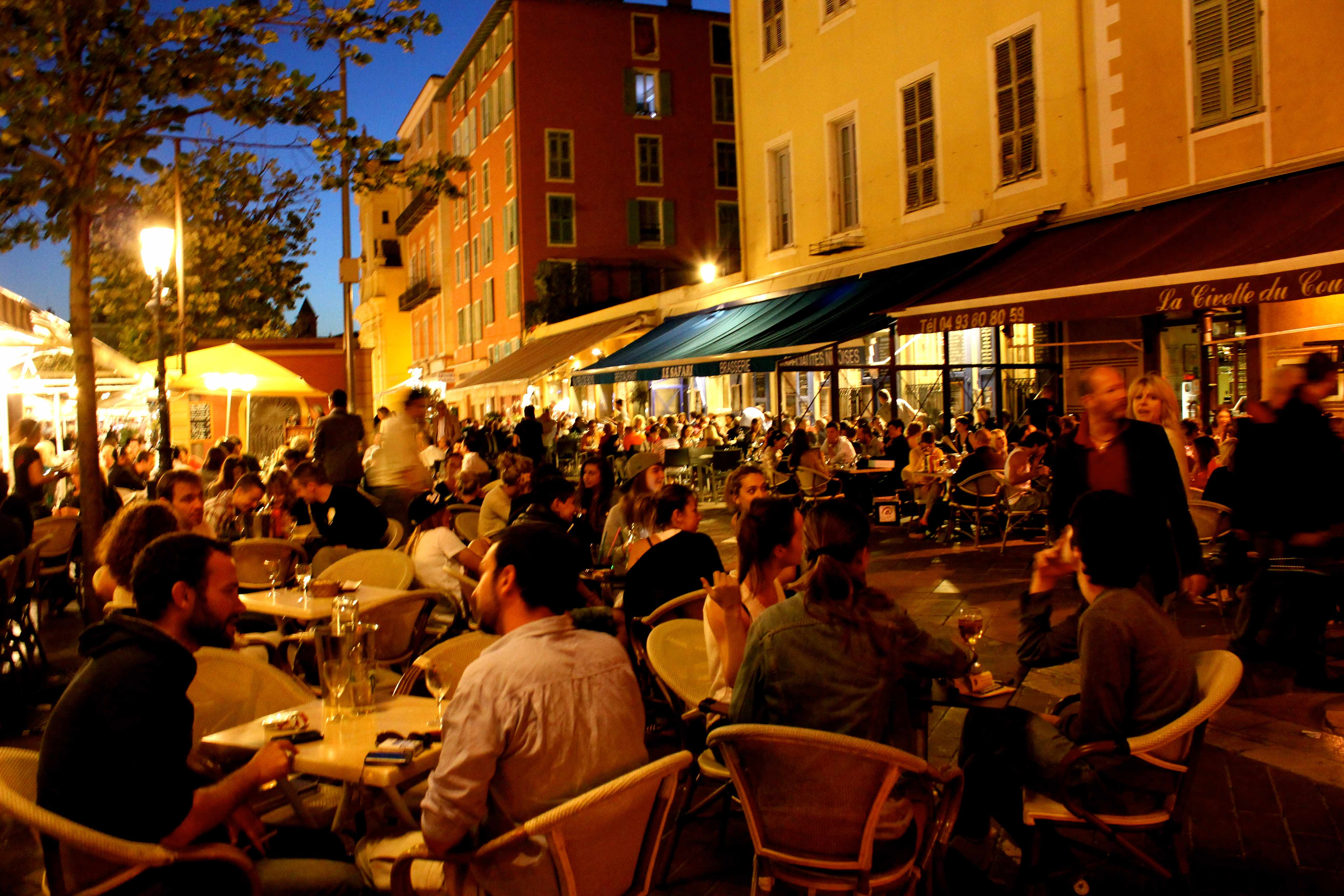 Restaurant Cours Saleya Nice