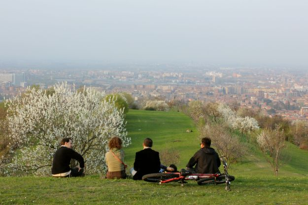 View of Bologna Centro from Parco San Pellegrino