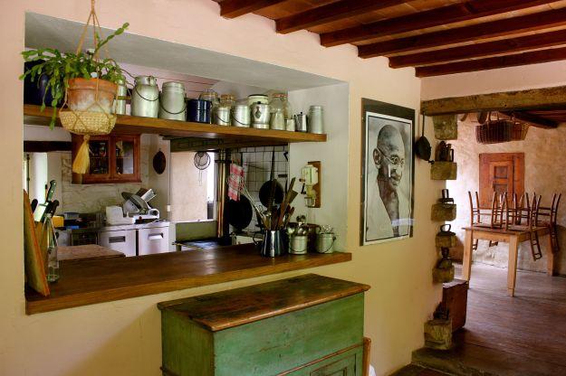 Pian di Stantino kitchen