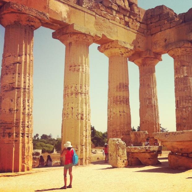 Temples in Selinunte