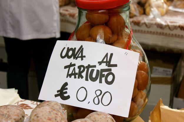 White Truffle Sagra Savigno - truffle scented eggs