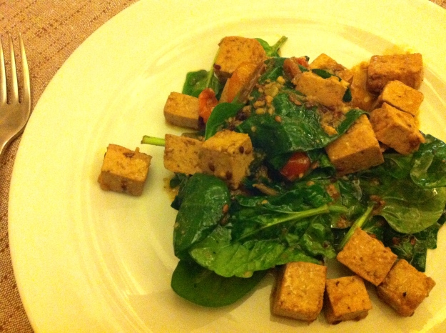 zenzero bologna tofu salad